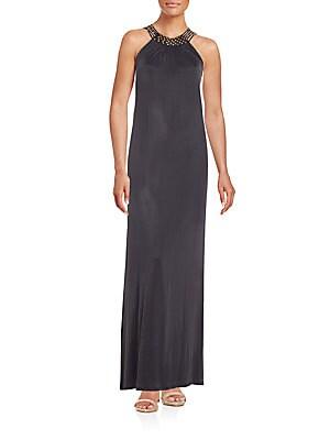 Aviana Beaded Maxi Dress