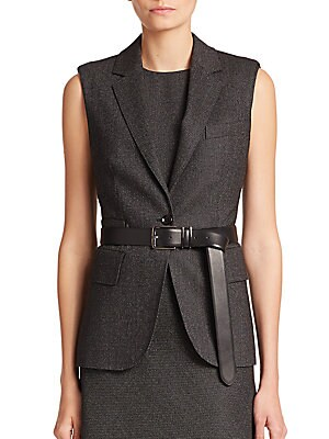 Ambra Silk Wool Vest