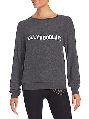 Hollywood Land Graphic Sweatshirt