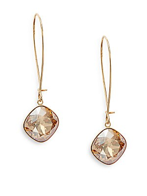Thankful Swarovski Crystal Drop Earrings