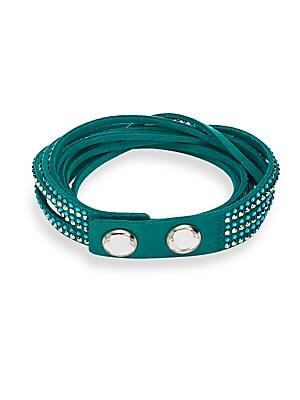 Slake Swarovski Crystal & Alcantara Deluxe Bracelet