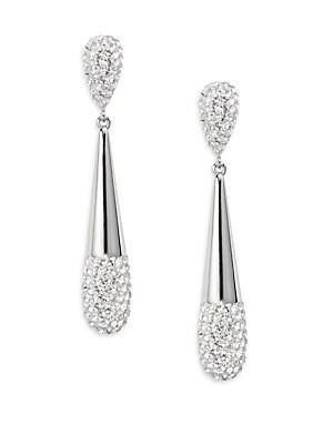 Cypress Crystal Teardrop Earrings