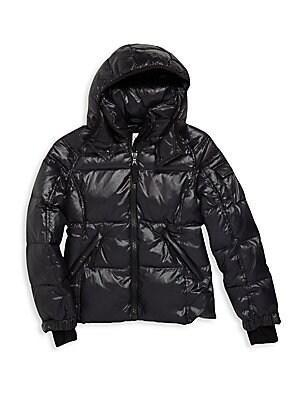 Girl's Mogul Hooded Puffer Jacket