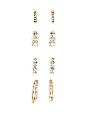 Click here for Four-Piece Drop Earring Set prices