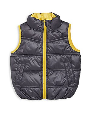 Toddlers  Little Boys Sleeveless Puffer Jacket