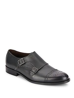 Alfanzo Monk-Strap Shoes