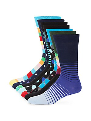 Assorted Cotton Socks/7-Pack