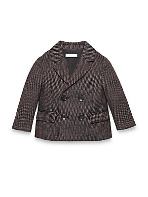 Baby's Wool/Silk Patterned Jacket