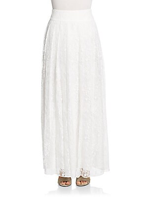 Caprice Lace Maxi Skirt