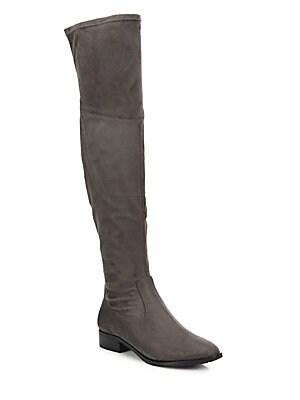 Dual Zip Over-The-Knee Boots