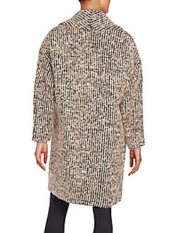 Ralter Oversized Bouclé Knit Coat