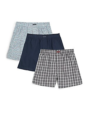 Classic-Fit Boxers, 3-Pack