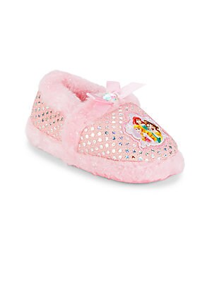 Girl's Sequined Princess Slippers