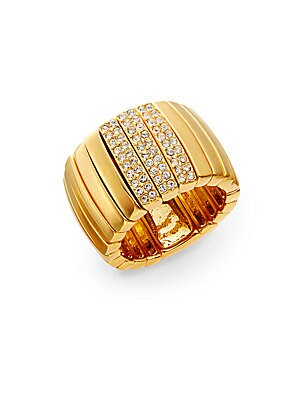 Holiday Pave Crystal Ring