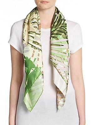 Tropical Paradise Silk Scarf
