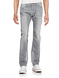 Safado Slim-Straight Jeans