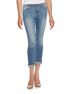 Rolled Cropped Jeans