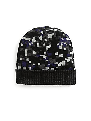 Geometric Print Hat