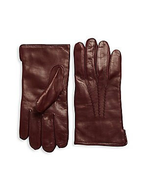 Slip-On Leather Gloves