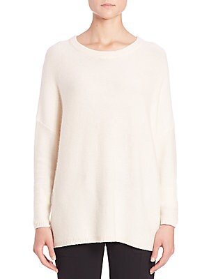 Easy-Fit Wool & Cashmere Sweater