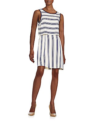 Striped Popover Dress