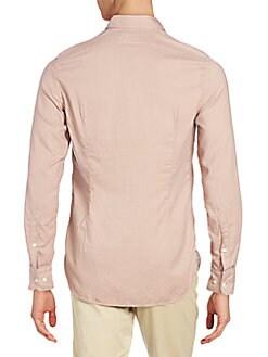 Slim-Fit Solid Sportshirt