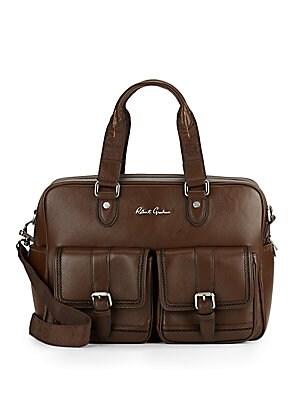 Lars Leather Duffle Bag