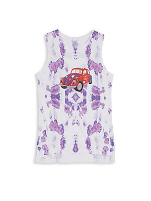 Girl's Punch Buggy Tie-Dye Tank