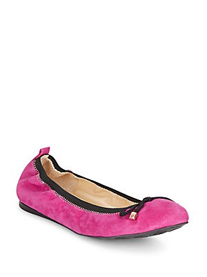 Ease Suede Ballet Flats