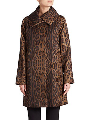 Leopard Jane Coat