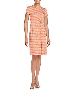 Printed Knit Dress
