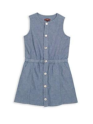 Toddler Girl's Denim Dress