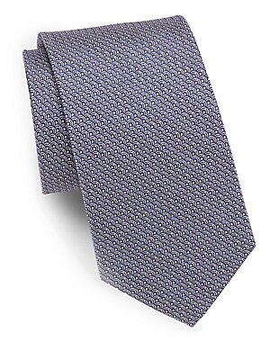 Scaled Silk Tie