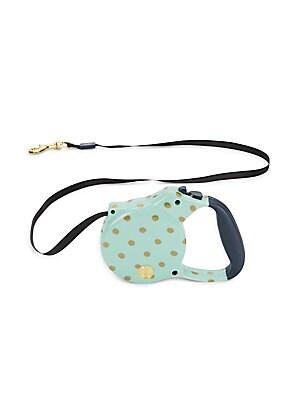 Polka Dot 16-Foot Retractable Dog Leash