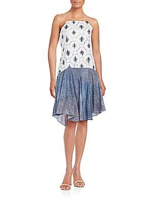 Akiko Cotton & Silk Dress
