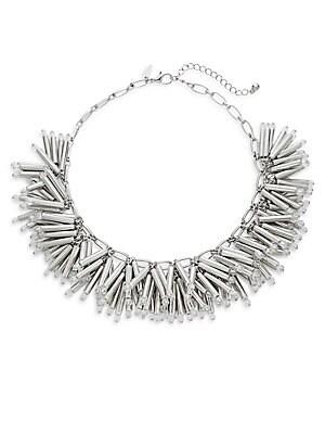Bar & Chain Collar Necklace