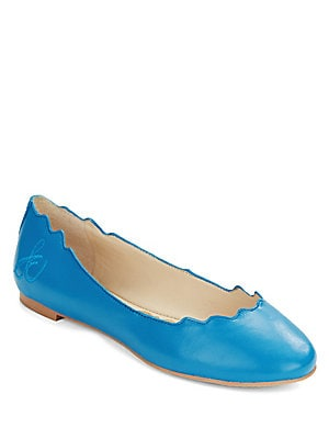 Augusta Leather Ballet Flats