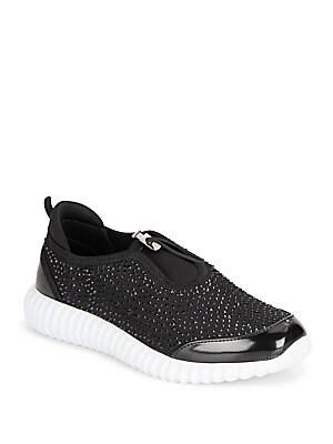 Dion Rhinestone Embellished Sneakers