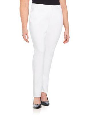 Five-Pocket Skinny Jeans Lafayette 148 New York, Plus Size