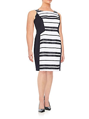 Kimberly Striped Dress
