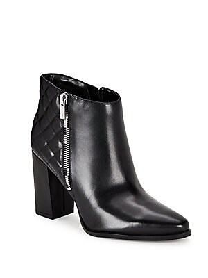 Rilee Point Toe Leather Ankle Boots