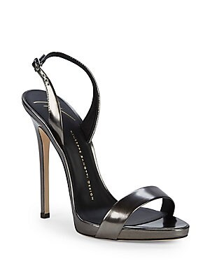 High-Heel Slingback Sandals