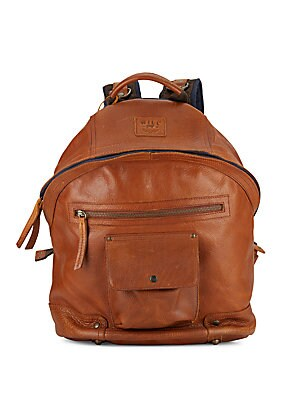 Silas Leather Backpack
