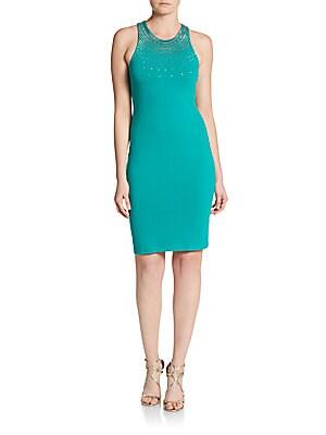 Ava Beaded Bodycon Dress