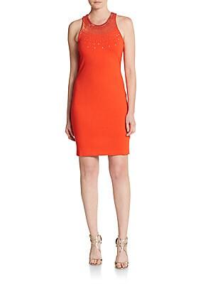 Ava Embellished Sheath Dress