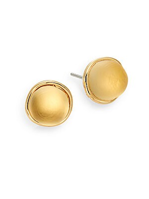 Lucite Mini Sphere Stud Earrings