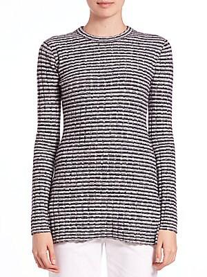 Belira Knit Back-Zip Top