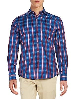 Regular-Fit Buddy Hobs Stripe Sportshirt