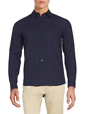 Regular-Fit Milo Cotton Sportshirt