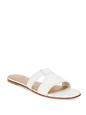 Mesi Leather Slide Sandals